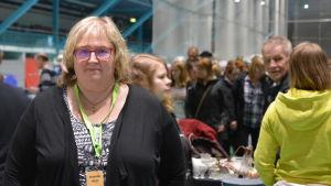 Verksamhetsledare Susanne West från Folkhälsan