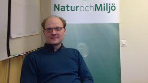 Natur och miljös verksamhetsledare Bernt Nordman