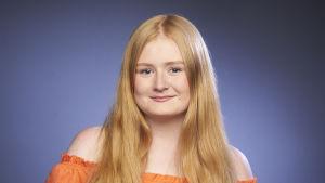 Tinja Höglund finalist i MGP 2018.