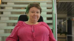 Fullmäktigeordförande Carola Lithén från Korsholm