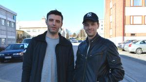 Janne Hyöty och Markus Lytts