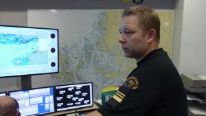 Sjöräddningsledare Niklas Guseff