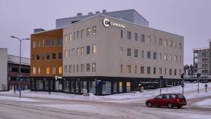 Careeria i Näse  Borgå sett från Alexandersbågen