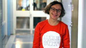 Eva-Helén Ahlberg är producent för Kulturkarnevalen sedan år 2004.