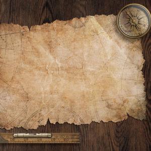 En gammal karta.