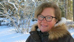 Sjuksköterska, pedagogiemagister och psykoterapeut Marie Lindfors-Airas fungerar som företrädare för asylsökande barn