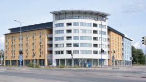 ett nybyggt studenthus i Borgå