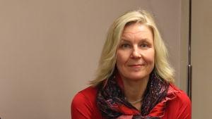 Mariehamns stadsdirektör Barbara Heinonen.