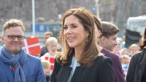 Kronprinsessan Mary på besök i Åbo.
