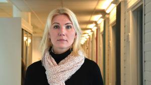 Porträtt av Marina Kinnunen.