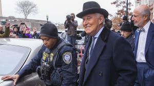 Den amerikanska lobbyisten Roger Stone.