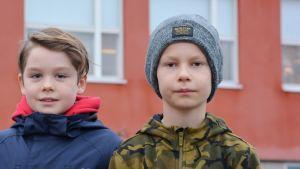 Kvabaeleverna Alex Lindström & Lauri Turpeinen