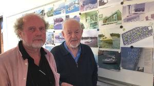 Guy Lönngren och Ralf Långbacka i halvbild.