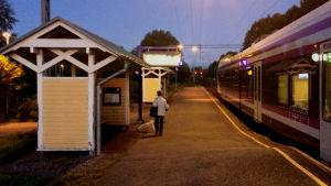 Sjundeå järnvägsstation