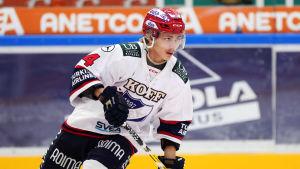 Iikka Kangasniemi har gjort 14 + 10 = 24 poäng på 19 matcher.