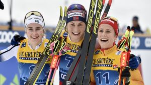 Ebba Andersson, Astrid Jacobsenm, Katharina Hennig.