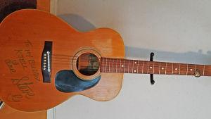 En Texas Landola gitarr
