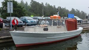 Stefan Svaetichins båt Ludde