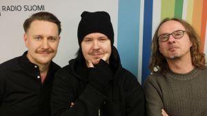 Markus Turunen, Aki Tykki ja Juha-Pekka Sillanpää Levylautakunnassa
