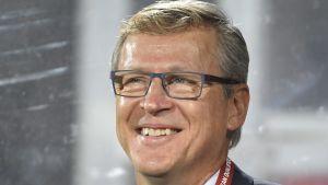 Markku Kanerva har gjort succé som Finlands förbundskapten.
