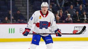 Otto Leskinen i Lavals tröja den 17 december.
