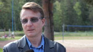 Vesa Vuoristo rektor vid Ulklosaariston koulu