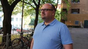 Christoffer Perret, ordförande för HIFK-fotboll.