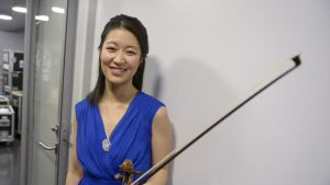Violinisten Christel Lee, segrare i Jean Sibeliustävlingen 2015.