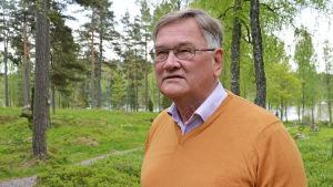 Henrik Gahmberg, jurist, bor i Långvik nära spa-hotellet
