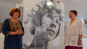 Elina Sorainen, Tove Jansson och Nina Björkman-Nystén
