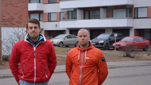 Jonas Östberg och Ronny Östman