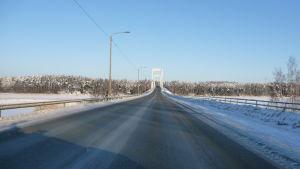 Rävsundsbron mellan Pargas och S:t Karins.