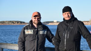 Tom Rönnblad och Torbjörn Ekholm