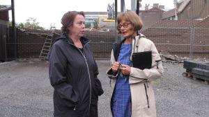 Leena Nyqvist och Marit Berndtson