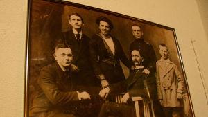 Familjen Böge som tog hand om jägarna i Kasino 7