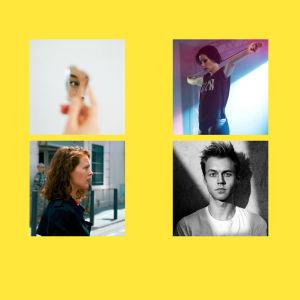 Veckans kulturtips, fyra små bilder.