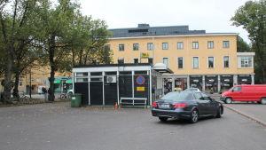 Taxistationen vid Borgå torg