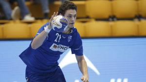 Max Granlund i landslaget.