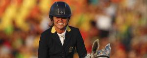 Chloe Esposito vann OS-guld i modern femkamp i Rio.