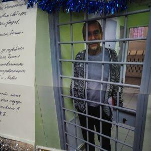 Ihmisoikeusaktivisti Lev Ponomarjov vankilassa kärsimässä 25 päivän tuomiota Facebook-jaosta