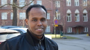 Mohamed Ahmed Roble gjorde sin praktik i Somalia.