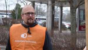 Kai Liistokki, JHL:s huvudförtroendeman i Esbo