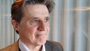 Peter Rasmussen på Finlands returplast.