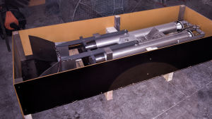 Ny cylinderformad provtagningsutrustning.