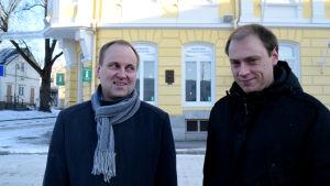 Tom Simola och Anders Walls