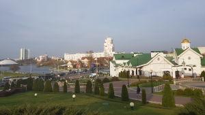 Vy över Minsk.