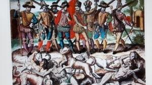 Columbus orsakade död och pina senare
