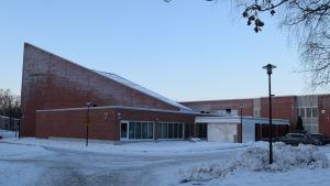 Den nuvarande Laurentius-salen i Lojo är i samma byggnad som Anttilan koulu.