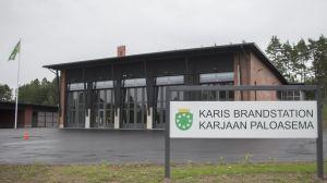 Karis nya brandstation i Tallmo tas i bruk hösten 2016.