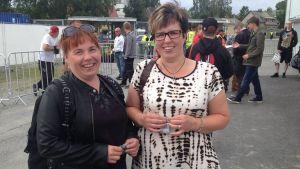 Ann-Sofi Nylund och Maria Pellfolk.
